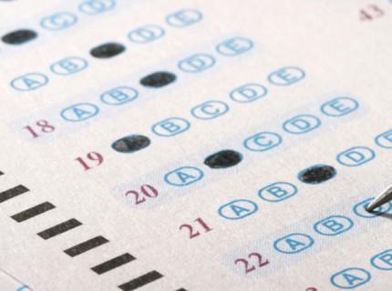 SAT Answer Sheet